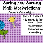 Spring Has Sprung: Common Core Aligned Math Workstations