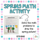 Spring Has Sprung! {Review 5th Grade Common Core Math Concepts}