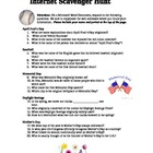 Spring Internet Scavenger Hunt