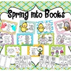 Spring Into Books Reading Display