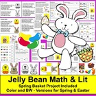 Spring Jelly Beans Math and Literacy Center - Math and Sha