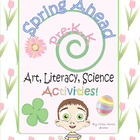 Spring Lessons & Activities Pre-K, Kindergarten  Art Liter