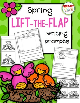 Spring Lift-the-Flap Writing Prompts