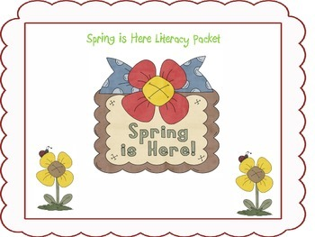 Spring Literacy Packet {10 Centers}