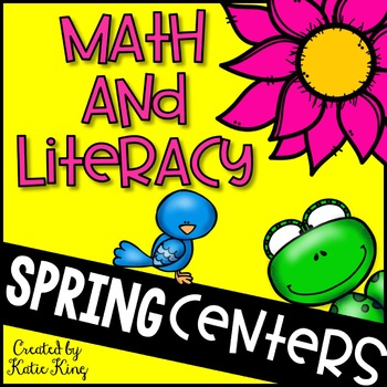Spring Literacy and Math Centers: Aligned to the Common Core