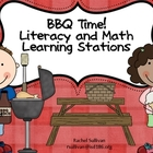 Spring Literacy and Math Station/Centers