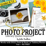 Yearbook Class Spring Literary Inspired Digital Art Challe