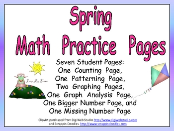Spring Math Activities for Kindergarten
