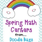 Spring Math Centers {Numbers up to 120, Money, Math Facts &amp; More}