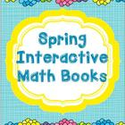 Spring Math Interactive Books