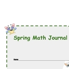 Spring Math Journal