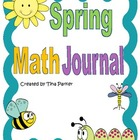 Spring Math Journal Writing