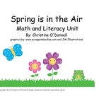 Spring Math + Literacy Unit: # words, Sight words, workshe