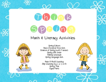 Spring Math & Literacy Unit