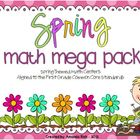 Spring Math Mega Pack (Spring Themed Math Centers for Firs