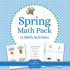 Spring Math Pack - Eleven Centers and Activities