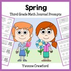 Spring Mathbooking - Math Journal Prompts (3rd and 4th grade)