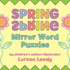 Spring Mirror Word Puzzles