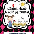 Spring Place Value Pictures