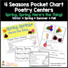 Spring Pocket Chart Poem and Reader Set