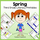 Spring Quick Common Core Literacy (3rd grade)