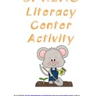 Spring Reading Skills Literacy Center Activity - Common Co