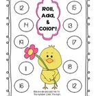 Spring Roll, Add, &amp; Color Math Center