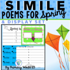 Spring Simile Poem Writing &amp; Bulletin Board Set to Display