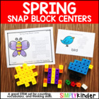 Spring Snap Cube Center {Counting}