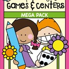 Spring Super Pack - 20 Games Centers Activities - Literacy
