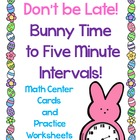 Spring Telling Time Center-Freebie