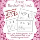 Spring Themed Alphabet/Handwriting Book
