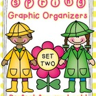 Spring Themed Graphic Organizers Set Two