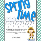 Spring Time ~ 2.MD.7 Math Station