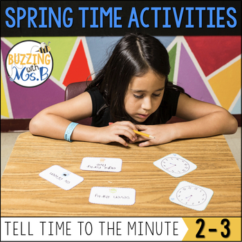 Spring Time Activity Pack: to the minute