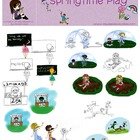 Spring Time Play Digital Image Pack