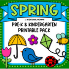 Spring Unit for Pre-K and Kindergarten Centers