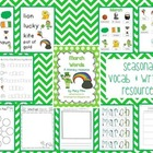 Spring Word Cards and Word Walls {in English and Spanish}