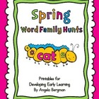 Spring Word Family Hunts