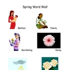 Spring Word Wall List