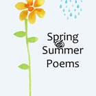 Spring and Summer Poetry Book