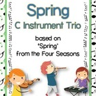 'Spring' from Four Seasons easy instrumental trio.