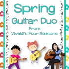 """Spring"" from the Four Seasons: Instrumental - Easy Guitar Duo."