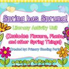 Spring has Sprung! A Literacy Unit {Flowers, Plants, and o