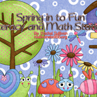 Spring in to Fun Literacy and Math Stations