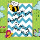 Spring into Kindergarten Math!