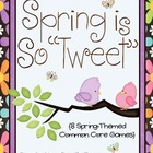 Spring is So Tweet! {Math Activities}