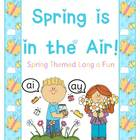 Spring is in the Air -ai -ay Literacy Packet