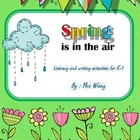 Spring is in the air - literacy and writing activities for K-1