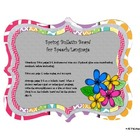 Springing into Speech & Language Bulletin Board